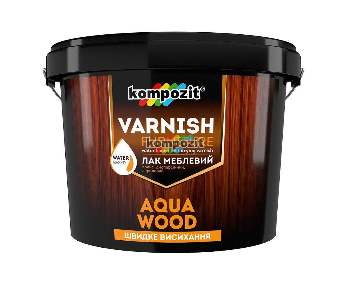 Лак для мебели Kompozit Aqua Wood