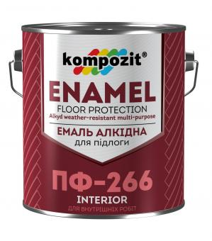 Kompozit ПФ-266 - эмаль алкидная для деревянных полов