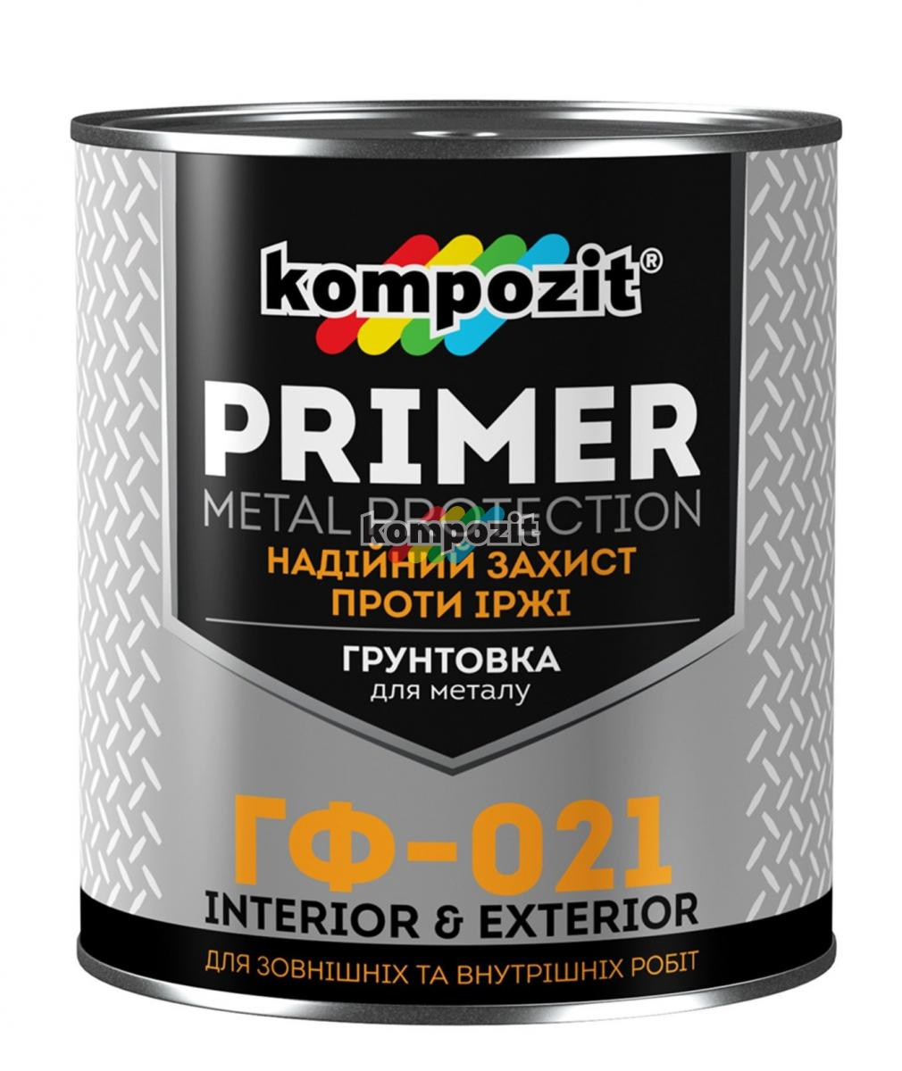 Антикоррозионная грунтовка Kompozit ГФ-021: характеристики и особенности состава