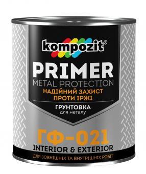 Антикоррозионная грунтовка Kompozit ГФ-021
