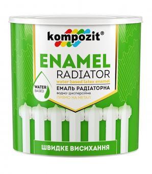 акриловая эмаль для радиаторов бренда Композит