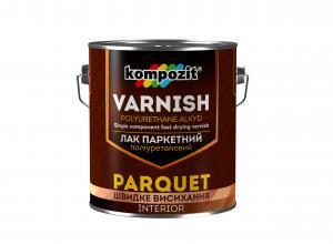 Kompozit Parquet - лак паркетный полиуретановый с повышенной твердостью и износостойкостью