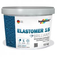 Kompozit Elastomer 15 - штукатурка камешковая