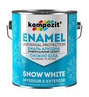 Kompozit - эмаль алкидная снежно-белая