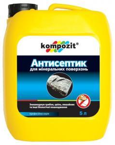 Kompozit - антисептик для минеральных поверхностей